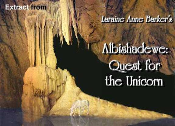 Excerpt from Albishadewe: Quest for the Unicorn b y Fantasy Author Laraine  Anne Barker