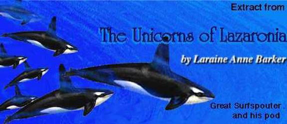 Great Surfspouter from The Unicorns of Lazaronia by Laraine Anne Barker