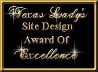 Texas Lady's Great Site Award